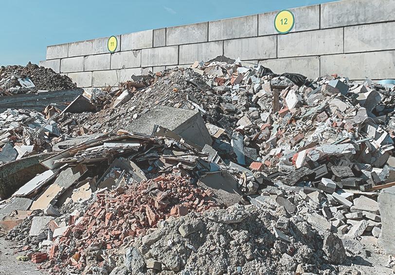 Wurzer-Wertstoffhof-Bauabfälle